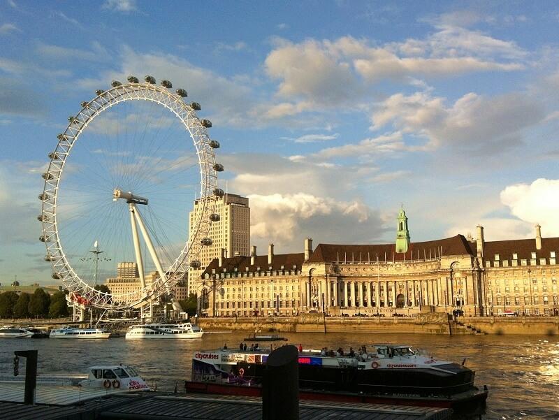Londen met een tiener