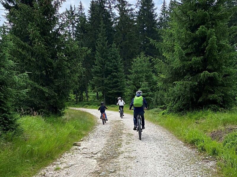 fietsen in Szklarska Poręba