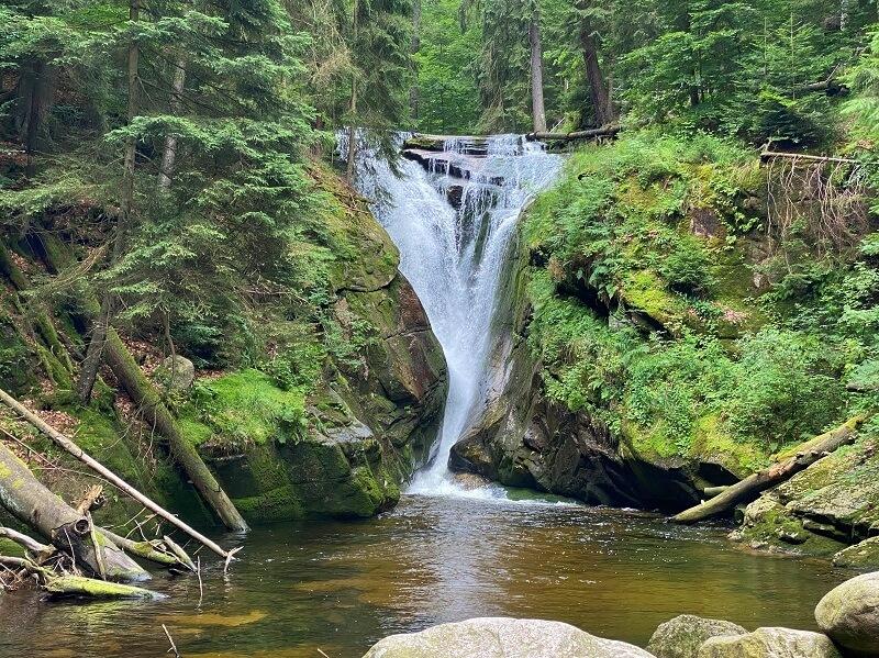 Szklarki waterval